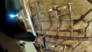 Harman Pb-105 Pellet Boiler Plumbing - 105 - My Diy Garage Build Hd Time Lapse
