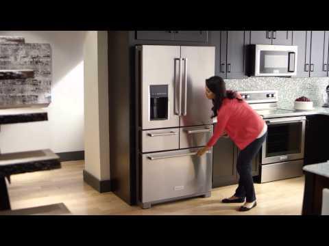 The First-Ever 5-Door Refrigerator | KitchenAid