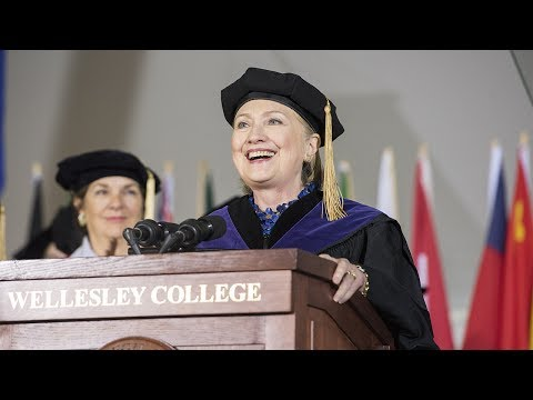 Hillary Rodham Clinton '69: Wellesley College 2017 Commencement Speaker