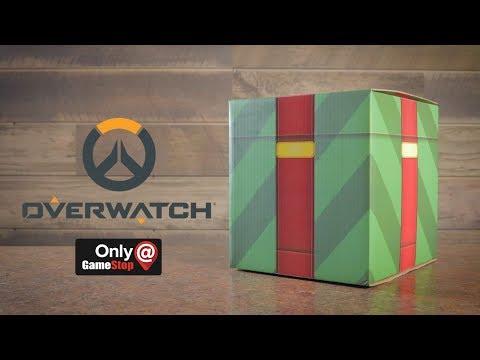 GameStop Exclusive Overwatch Winter Wonderland box