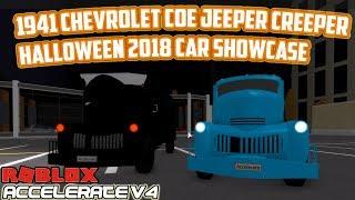 1941 Chevrolet Coe Jeeper Creeper Halloween 2018 Event Car Showcase! | Accelerate V4 (ROBLOX)