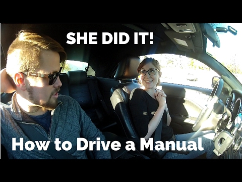 How to Drive a Manual Transmission Car - Teaching My Fiance