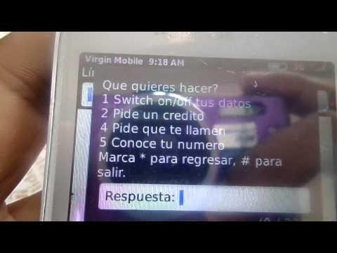 Como saber el numero de Virgin Mobile