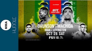 UFC Sao Paulo preview UFC Gdansk review plus YOUR questions