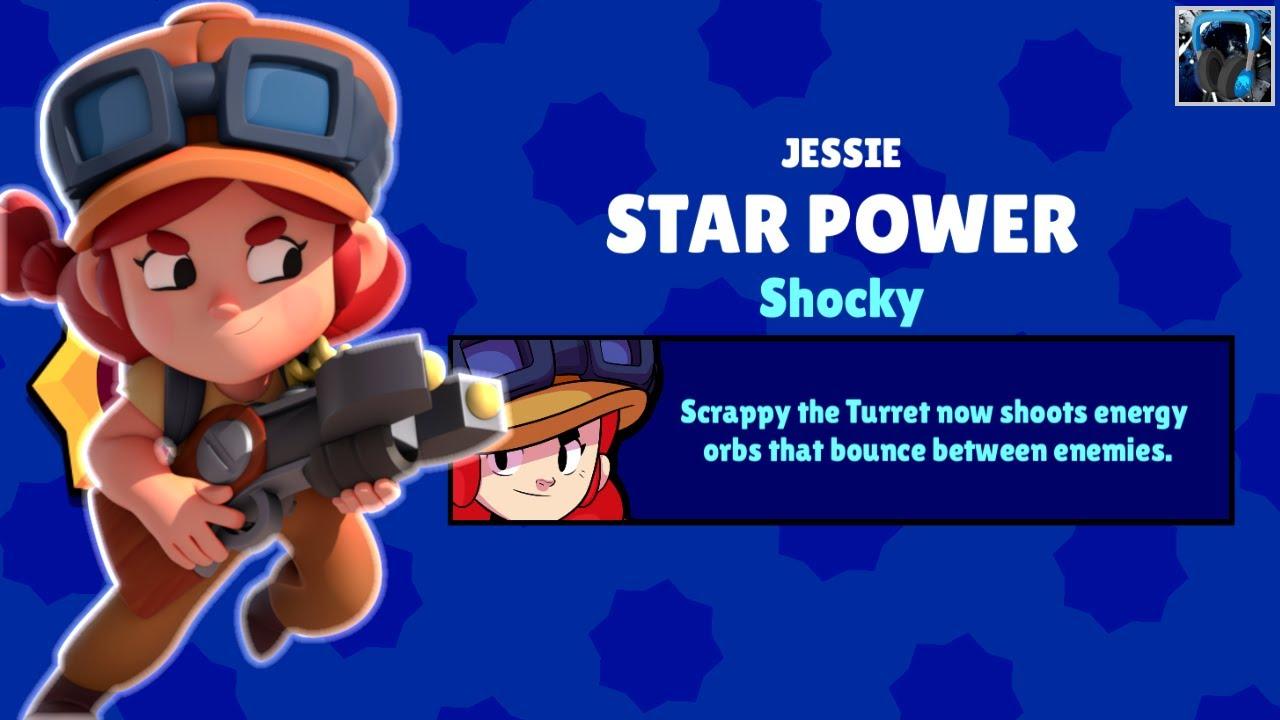 """🎣 ASMR ↪ Brawl Stars] - """"🎮 Jessie's SHOCKY Star Power ..."""