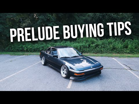 SO YOU WANT TO BUY A HONDA PRELUDE...