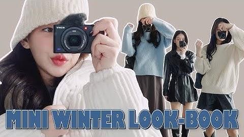 ❦[미니겨울룩북] 초겨울부터 차곡차곡 사본 겨울 패션 아이템들 미니하울 💙✨