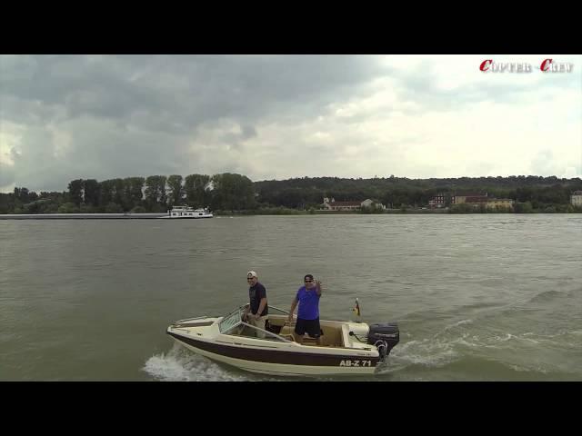 Fotoshooting von Boot