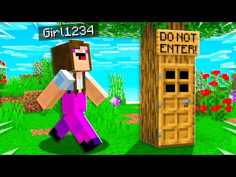 I Found Noob1234's Girlfriend's SECRET Minecraft House!
