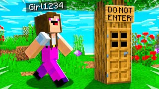 I Found Noob1234's Girlfriend's SECRET Minecraft House!
