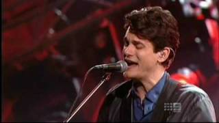 John Mayer - Heartbreak Warfare live @ Logies 2010