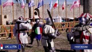 """United Kingdom vs Italy 5x5 Day 2. """"Battle of the Nations"""" - 2013. Aigues-Mortes, France"""