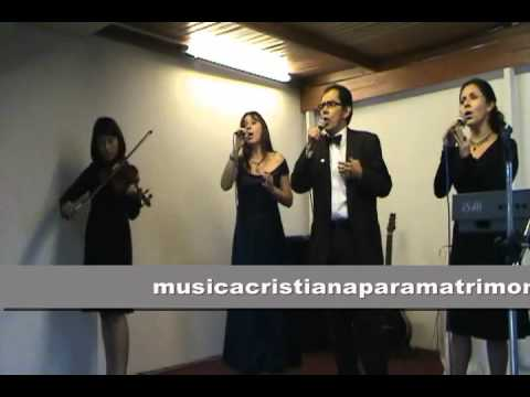 Música Cristiana para Matrimonios - Tu me haces tan feliz
