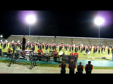 Harrison Central High School Band - Emerald Coast Marching Classic - 10/22/11