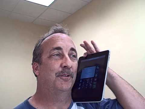 Make a phone call from your iPad!