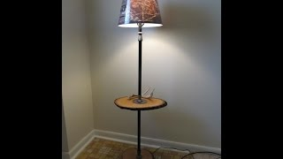 Diy - Upcycle An Old Rusty Standing Lamp