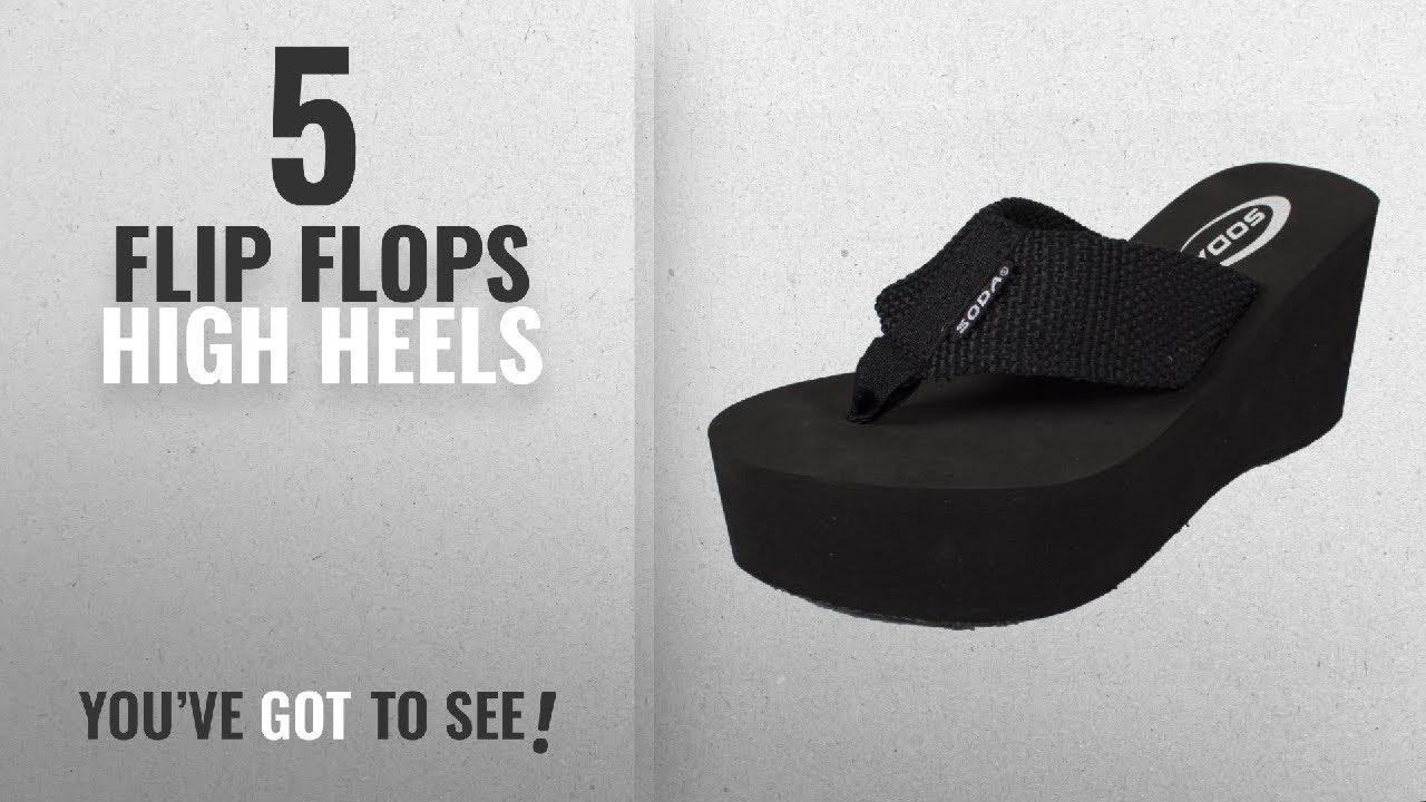 ca091c3f0a93 Top 5 Flip Flops High Heels  2018   Soda Womens Oxley-S Flip Flop ...