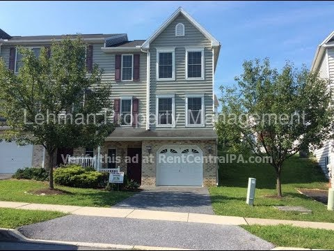 Central PA Townhomes for Rent 3BR/2.5BA by Lehman Property Management