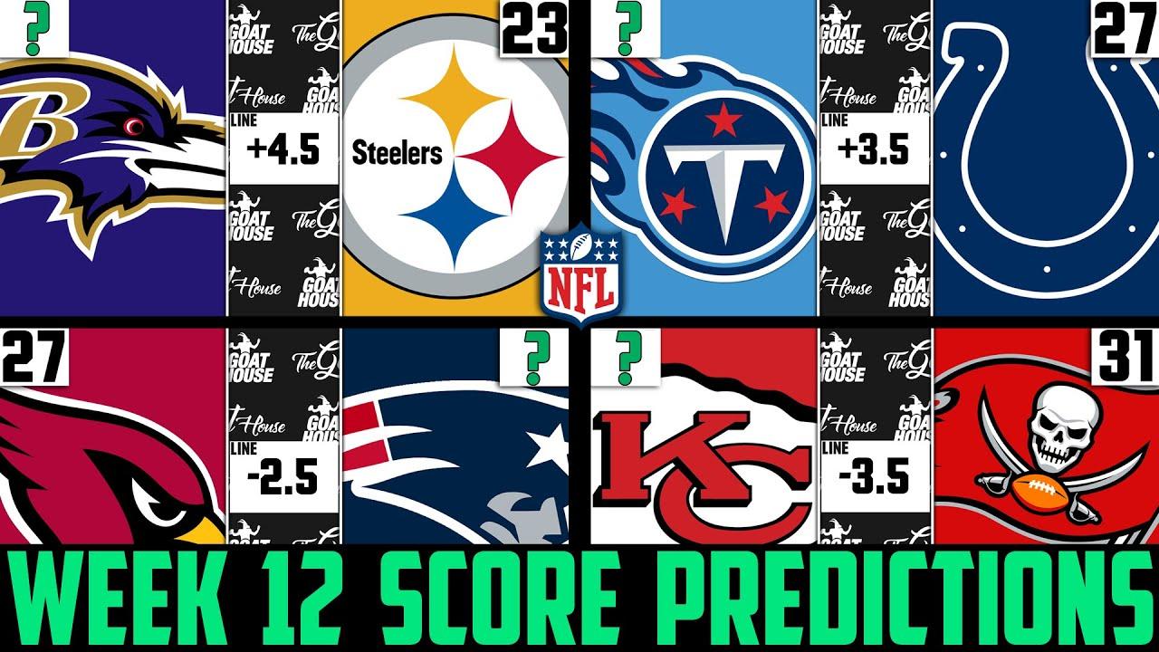 Week 11 nfl betting predictions week 12 professional sports betting picks