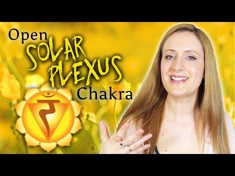 How To Open & Unblock The SOLAR PLEXUS Chakra (Yellow Chakra)