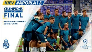 Real Madrid DAY 1 IN KIEV and TRAINING before Champions League Final