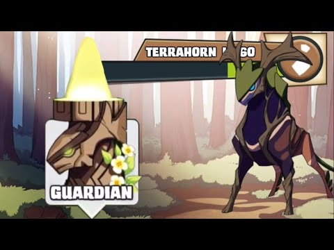 Battling the Earth Guardian - Terrahorn | Mino Monsters 2 | iOS, Android