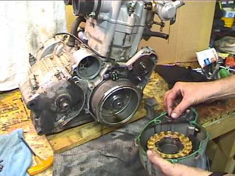 How to Change the Alternator on a Motorcycle