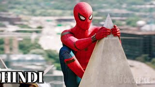 Spider-Man Saves His Girlfriend & Friends Scenes HD In Hindi - Spider-Man Homecoming (2017)