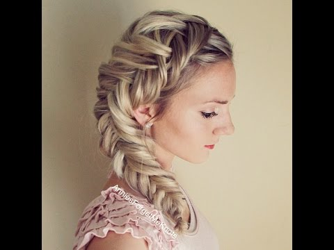 How to: Dutch Fishtail Braid (Elsa Hair) - YouTube