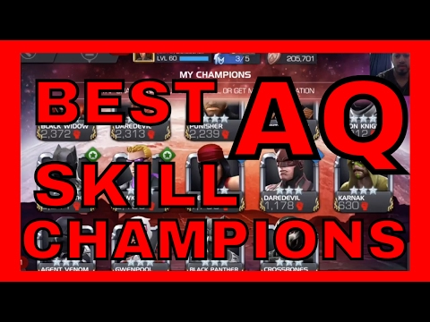 Best Skill Champions to bring into Alliance Quest!!!