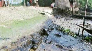3,50,000 litres of oil spills in river as tanker sinks in Sunderbans