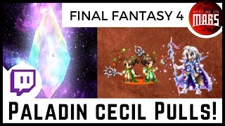 🌈Paladin Cecil Summons!🌈 Please Don't Touch Me, Palom & Porom | FFBE