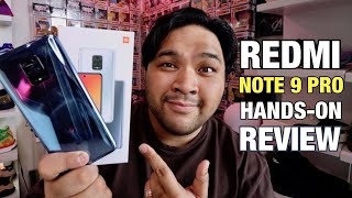 Redmi Note 9 Pro Hands On Review Philippines Version Youtube