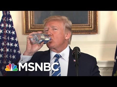 Donald Trump Takes Two Water Breaks In One Speech | All In | MSNBC