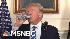 President Donald Trump Takes Two Water Breaks In One Speech | All In | MSNBC