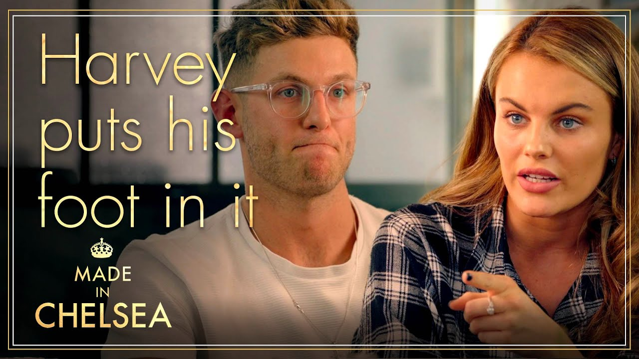 Download Harvey puts his foot in it | Made in Chelsea