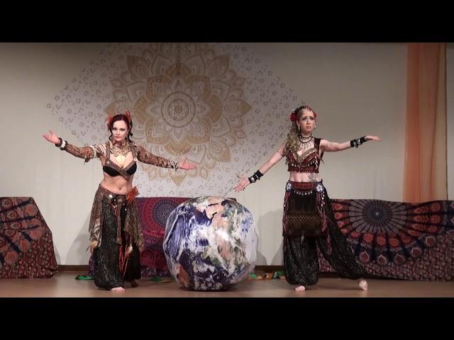 Unsere Erde - Experimentell - Duett Shaheena Yanara + Layana