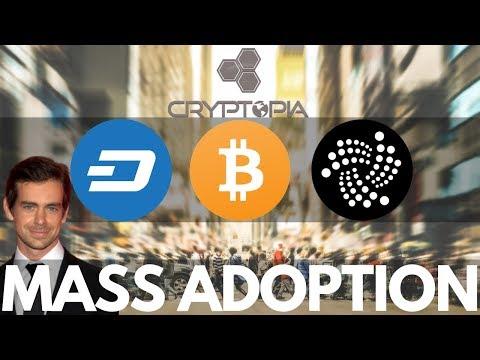IOTA and DASH Updates, Twitter CEO Jack, Pushing for Mass Adoption! Cryptopia Hack Update!