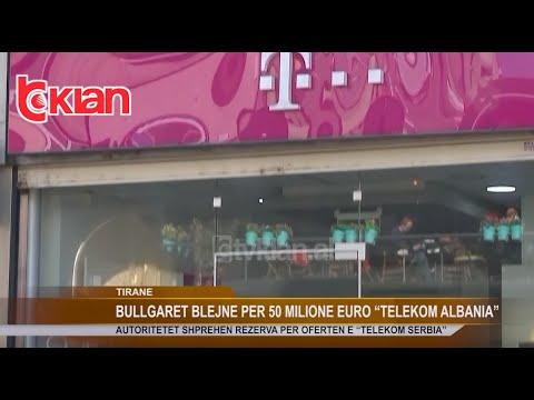 "Bullgaret blejne per 50 milione Euro ""Telekom Albania"""