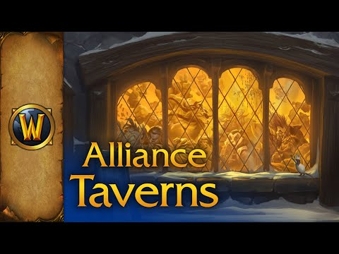 World of Warcraft - Music & Ambience - Alliance Taverns