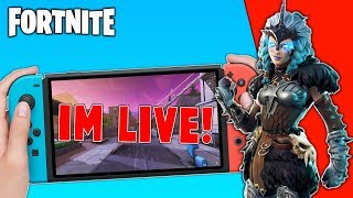 🔴 Best Fortnite Nintendo Switch Player // Solo Matches // New Ice Dragon Glider + Tips!!
