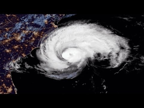 Hurricane Florence: Latest Imagery From Space - September 13