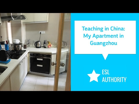 Teaching in China - My Apartment in Guangzhou