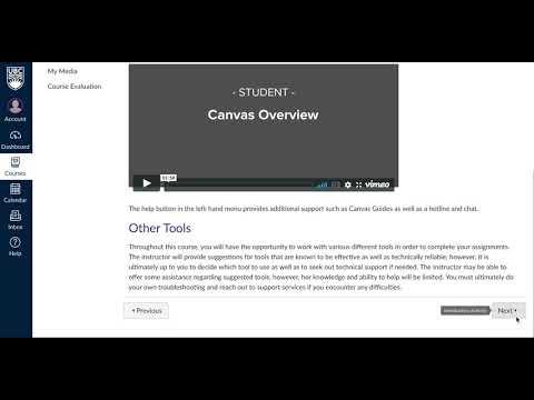 Etec 524 Canvas Course Tour Youtube