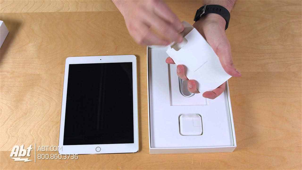 Unboxing Apple IPad Pro Inch Tablet YouTube - Abt ipad