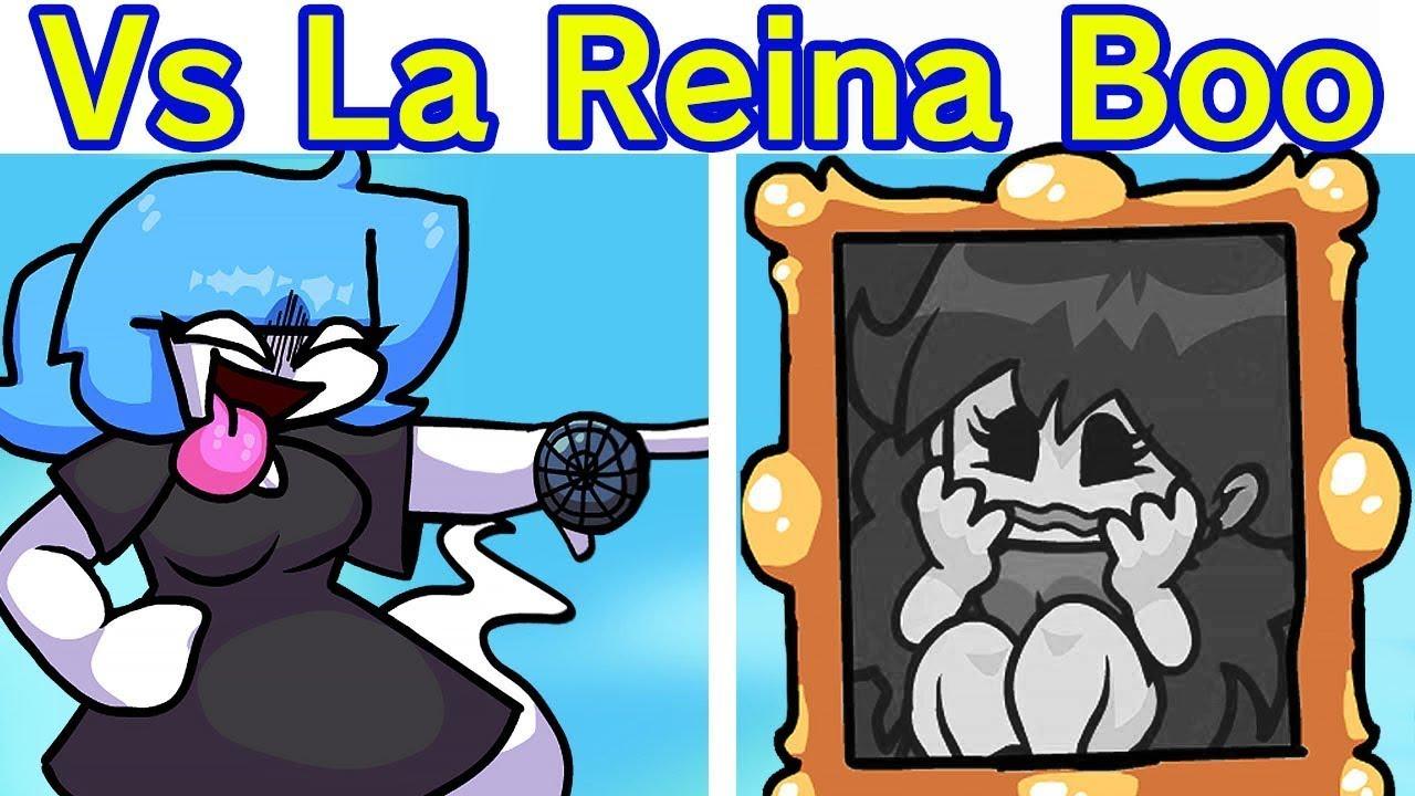 Friday Night Funkin'  La Reina Boo + Escenas - Demo - (Animación)