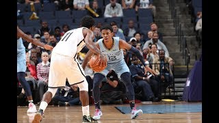 Kyrie Irving (37 PTS) vs. Ja Morant (30 PTS) Duel It Out In Overtime Thriller