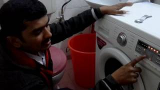 LG - 6KG Front Load Washing Machine demo (Home Video)