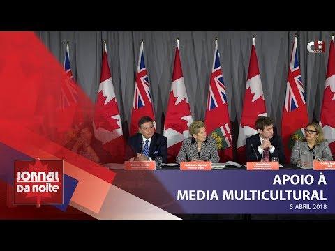 Jornal da Noite Canadá - Apoio à Media Multicultural