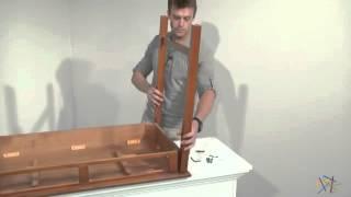 Assembly Video - Valona Oak Writing Desk